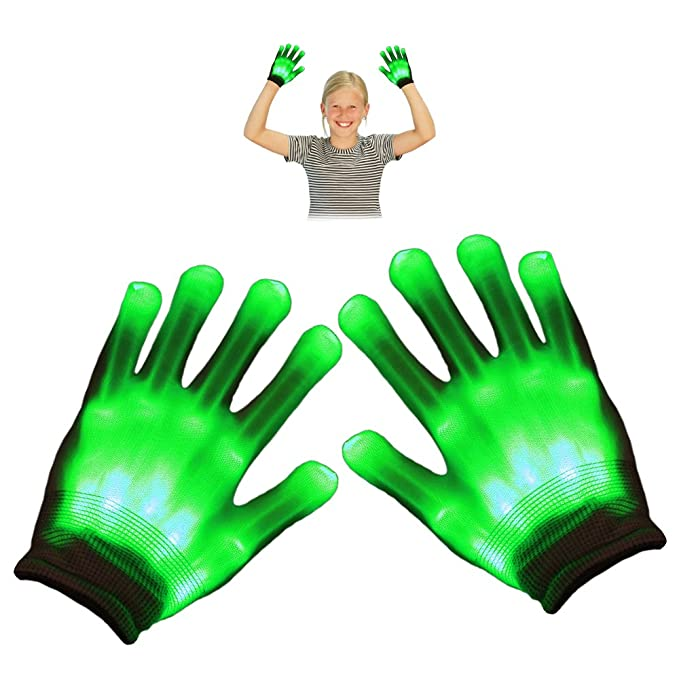 Toys for 4 5 6 7 8 Year Old Boys, TOG Gift LED Flashing Gloves Amazon.com: