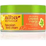 Alba Botanica Hawaiian, Papaya Mango Body Cream, 6.5 Ounce