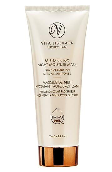Vita Liberata Luxury Tan, Self Tanning Night Moisture Mask, 2.2 oz (Pack of 3) Masaki Matsushima Body  Lotion 6.65 oz