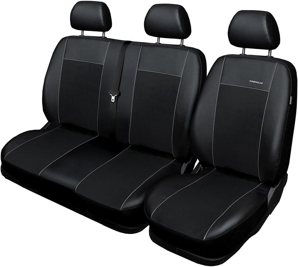 velour punto acolchado/® Auto de joyas A4/B6/Fundas de asiento a escala ajuste perfecto schonbez/üge de asiento