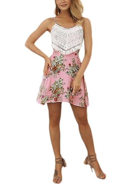 Vestidos Verano Mujer 2018 Casual Elegante Moda Vestido Sin Mangas Impresa Fiesta Dresses Señoras con Flecos