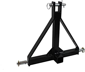 "MAXXHAUL Standard 3-Point Hitch Adapter for Trailers & Farm Equipment with Category 1 Pins & 2"" Hitch Receiver"
