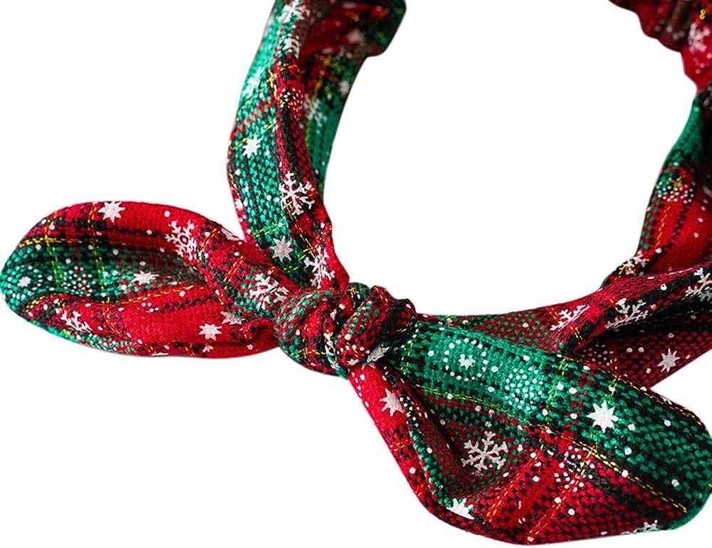 lulucheri 4 Pack Womens Boho Knotted Headbands Yoga Sports Wide Sweat Band Headbands Stretch Cotton Hair Band Fashion Headwrap