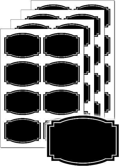K/üche Beschriftungsetiketten Beschriften Ettiketen Aufkleber f/ür Gew/ürzgl/äser Marmelade Tafel Aufkleber 500 Stk Wasserdichte Etiketten Selbstklebend K/üchen Klebeetiketten Tafeletiketten