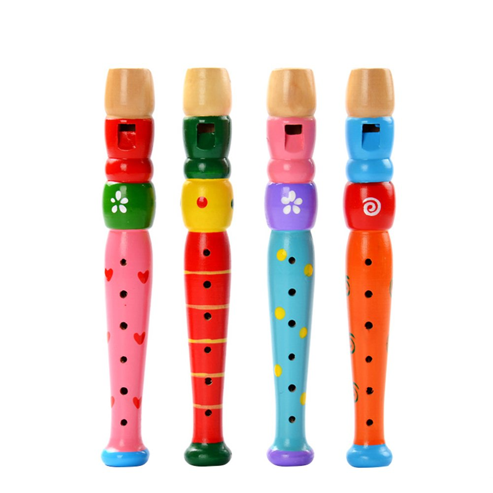 Leisial 1 pcs Baby Kids Flute Whistle Toys Musical Educational Toys Early Children Flute Music Instrument for Kids Toddlers Birthday Gift 55IE128190KE