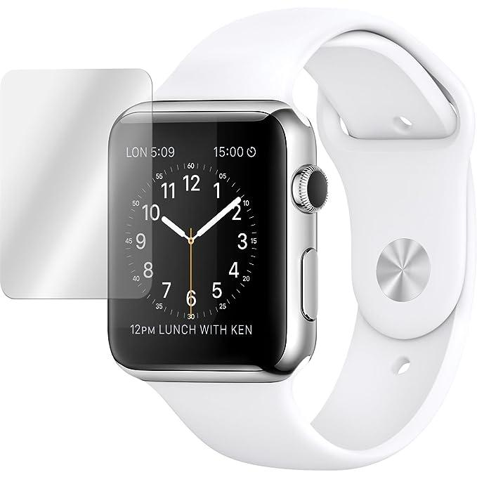 18 opinioni per 2 x Apple Watch 42mm Pellicola Protettiva Vetro Temperato chiaro- PhoneNatic