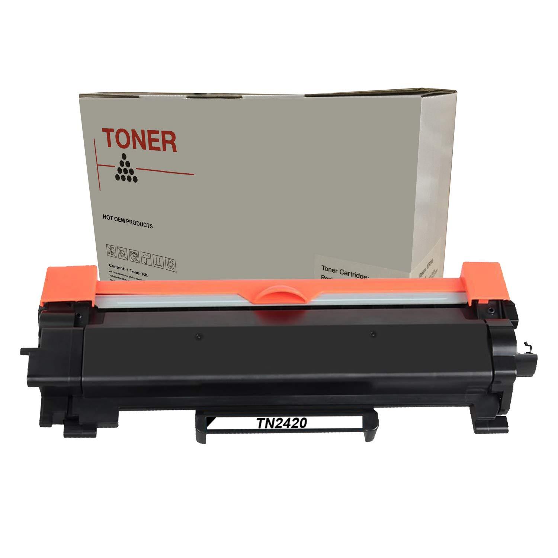 DOREE Compatible 2 Toner Brother TN-2420 TN2420 (con Chip) Negro ...