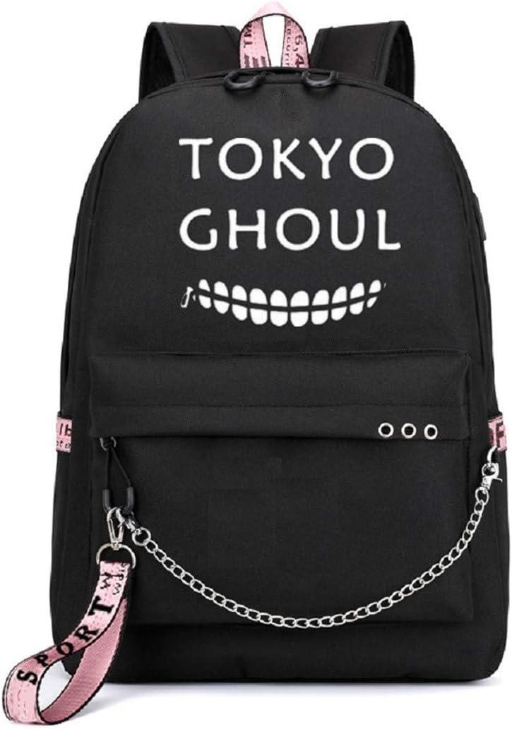 Noir YOYOSHome Sac /à Dos pour Ordinateur Portable avec Port de Charge USB Assassination Classroom - yyyo3