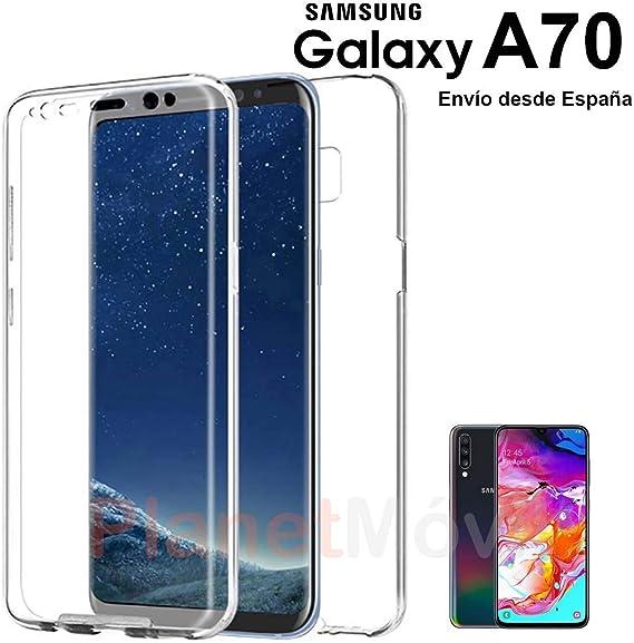 PLANETMOVIL Funda 360 Compatible con [ Samsung Galaxy A70 y ...