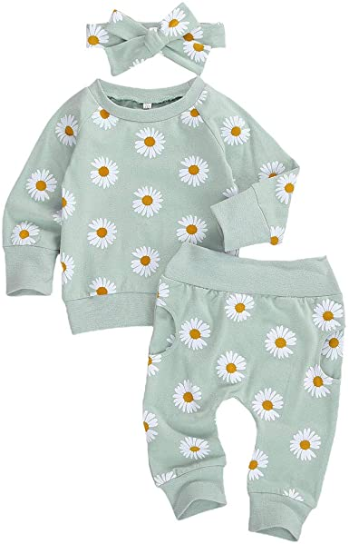 Baby girl clothes baby girl winter outfit leggings and headband Baby girl outfit toddler outfit Nb to size 6 baby fall outfit