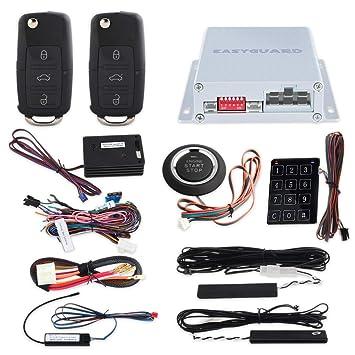 Easyguard PKE arranque de coche sistema de alarma con mando ...