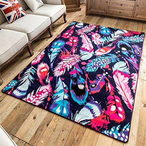 SE7VEN American fashion modern personality piece carpet Living room coffee table sofa Office study full of large carpet-B - Sofa Traditional Office