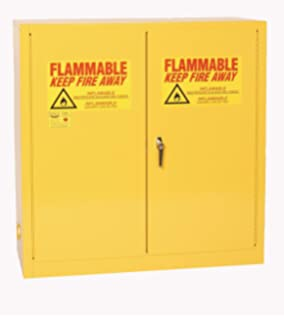 eagle 1932 safety cabinet for flammable liquids 2 door manual close 30 gallon - Paint Storage Cabinets