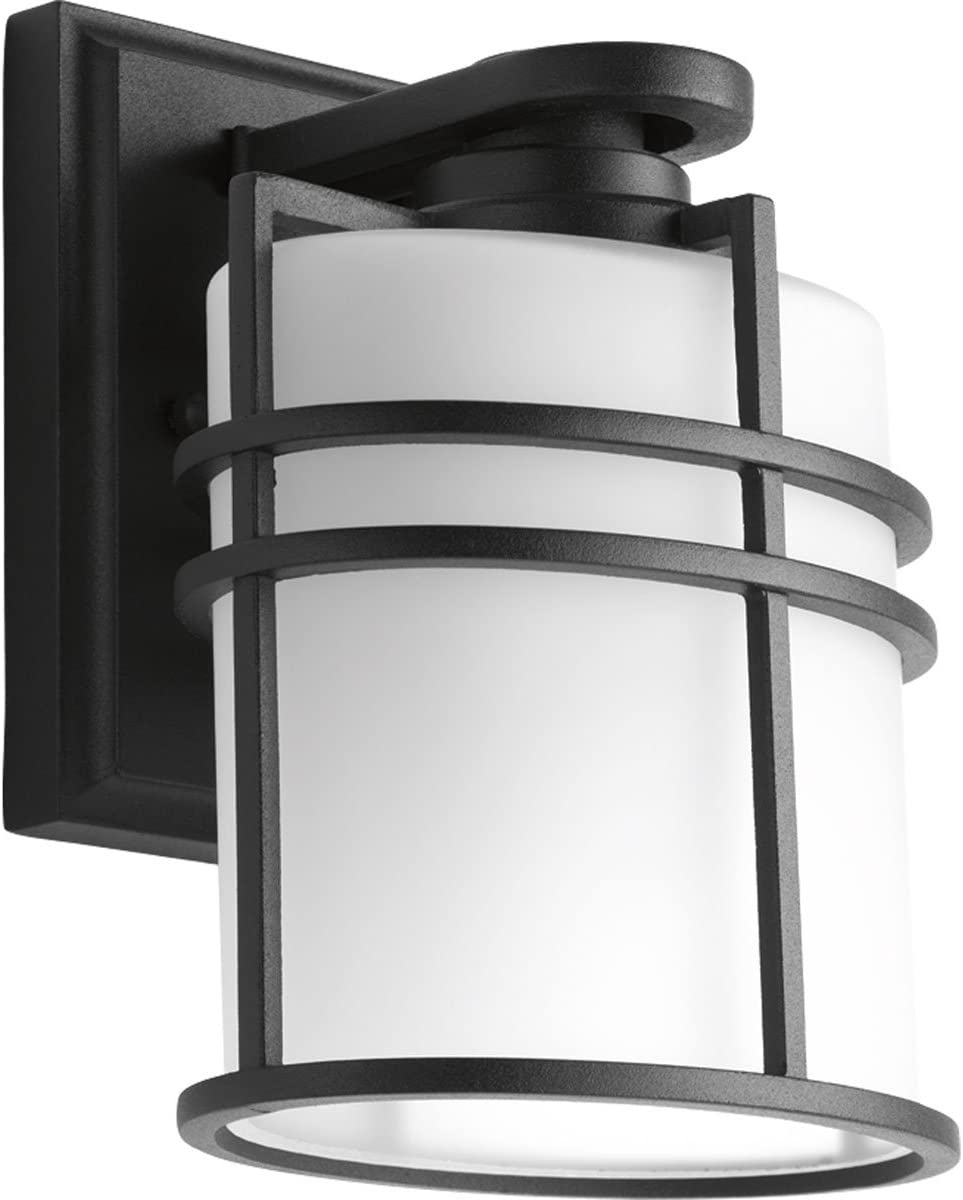 Progress Lighting P6062-31 Transitional One Light Wall Lantern from Format Collection in Black Finish, 3.88 inches, 6