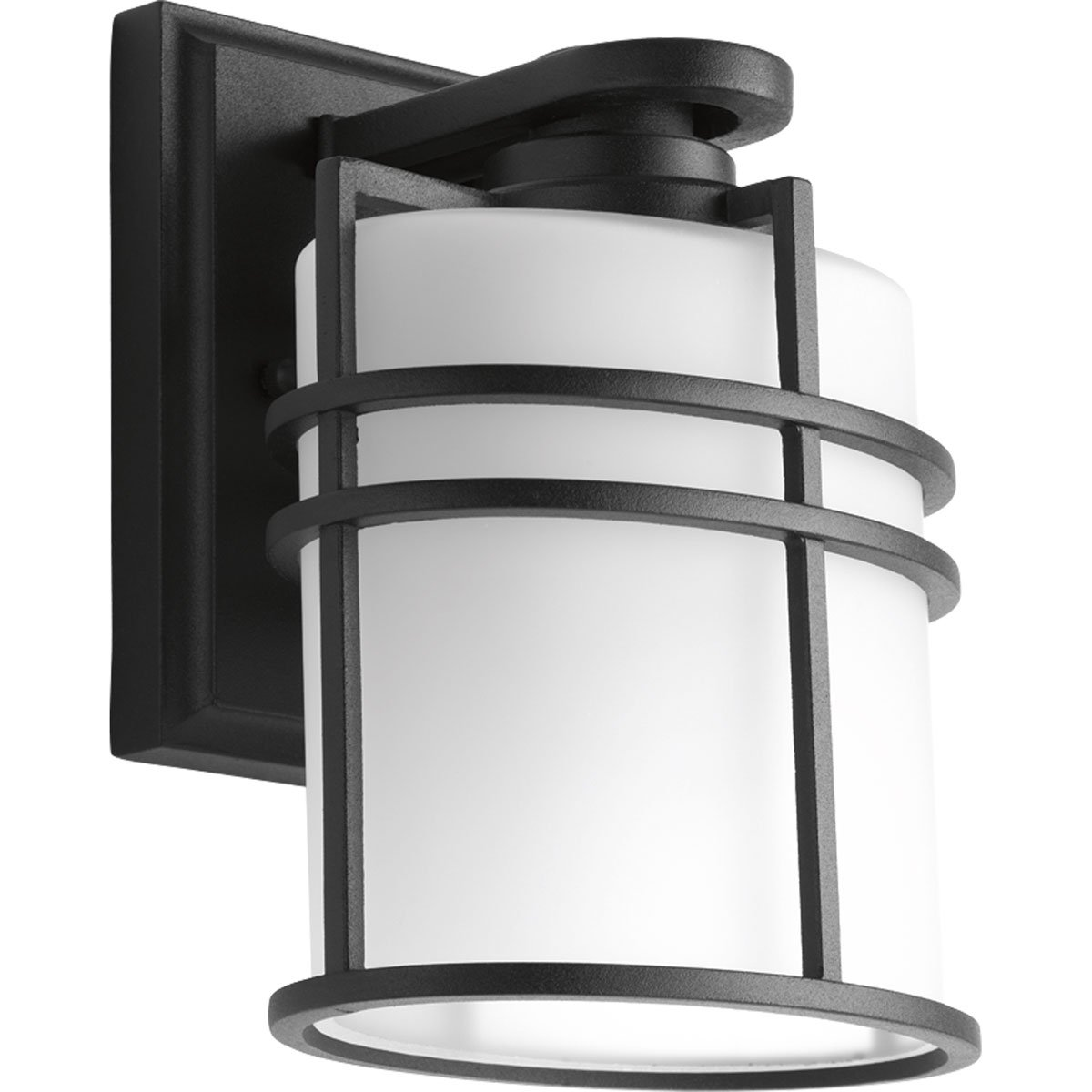 Progress Lighting P6062-31 1 LT Wall Lantern with Etched Glass, 6''
