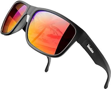 Verdster Islander – Gafas de Sol Polarizadas de Espejo Extra ...