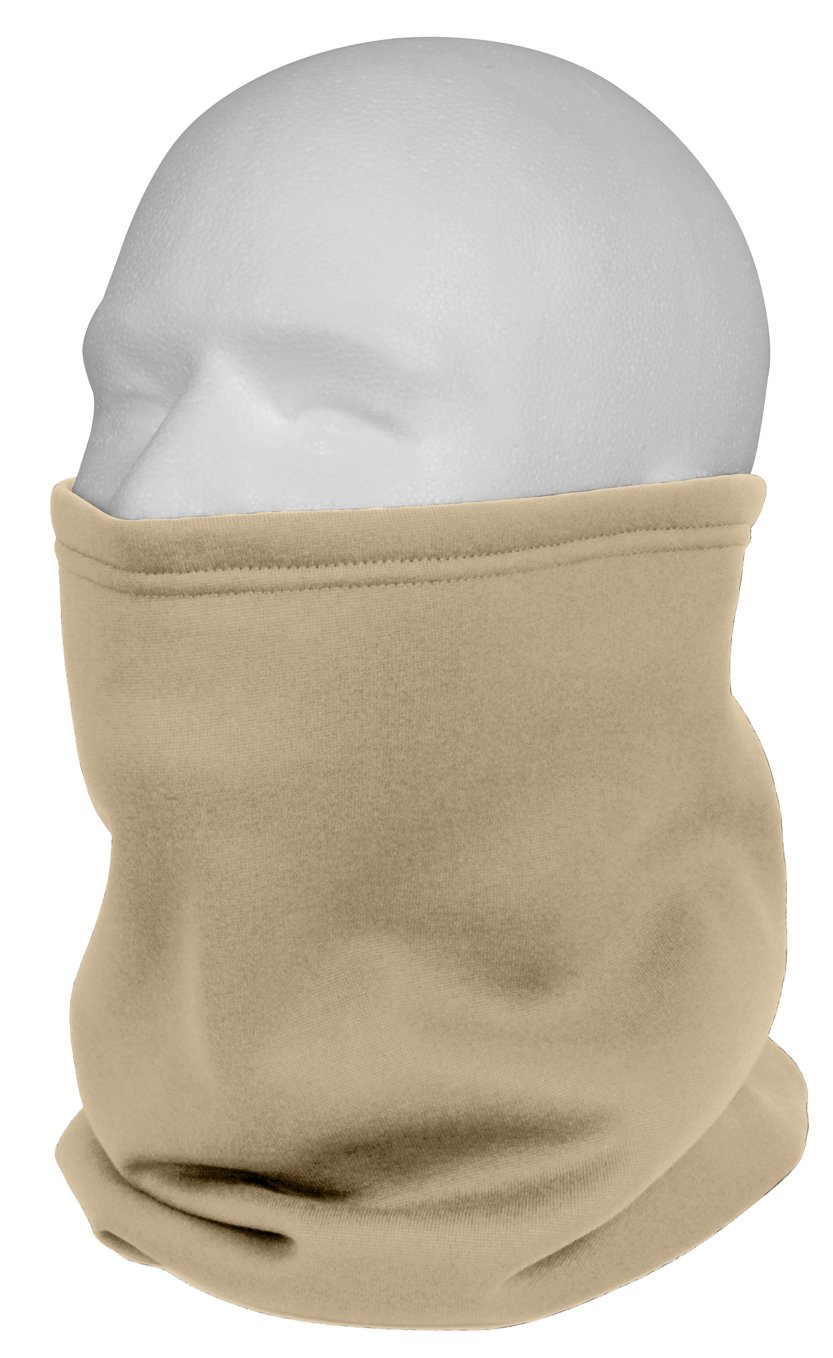 Amazoncom Rothco Ecwcs Polyester Neck Gaiters Ar 670 1 Coyote