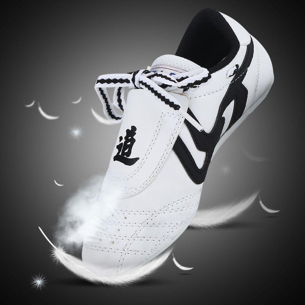Martial Arts Shoes Taekwondo Shoes,Kids Teenager Martial Arts Training Shoes Sport Boxing Karate Shoes for Taekwondo Kung Fu Taichi Boxing