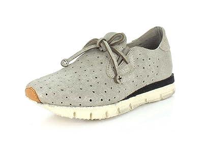 Otbt Womens Lunar Sneaker, Grey Silver - 6M