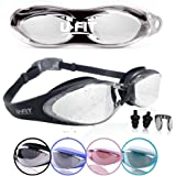 U-FIT Top Performance Swim Goggles - Comes With Case!