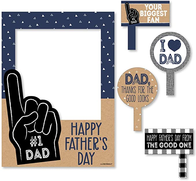 dad kid fathers Day cheers Father/'s Day frame gift fathers day gift  MDF1-104 best buds drinking buddies fathers day photo frame