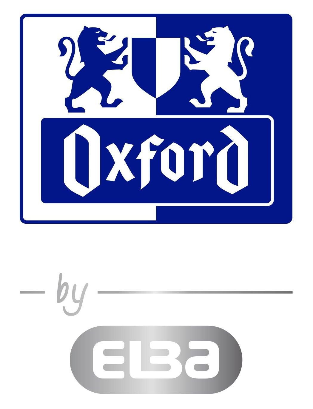 OXFORD by ELBA 400103414 Sammelbox DIN A4 in der Farbe Aqua 3 abgerundete Einschlagklappen fester Karton mit soft-touch-Oberfl/äche flache Eckspannergummis f/ür einen sicheren Verschlu/ß