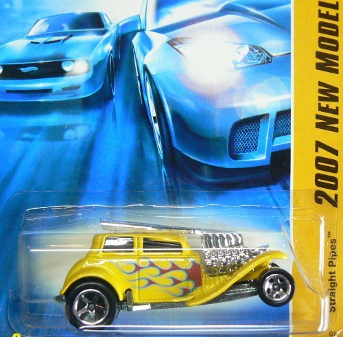 Hot Wheels Gelb Gelb Gelb Straight Pipes 2007 New Models  12 by Hot Wheels 0f24fe