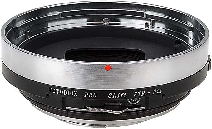 Fotodiox Pro Shift Lens Mount Adapter Compatible With Elektronik