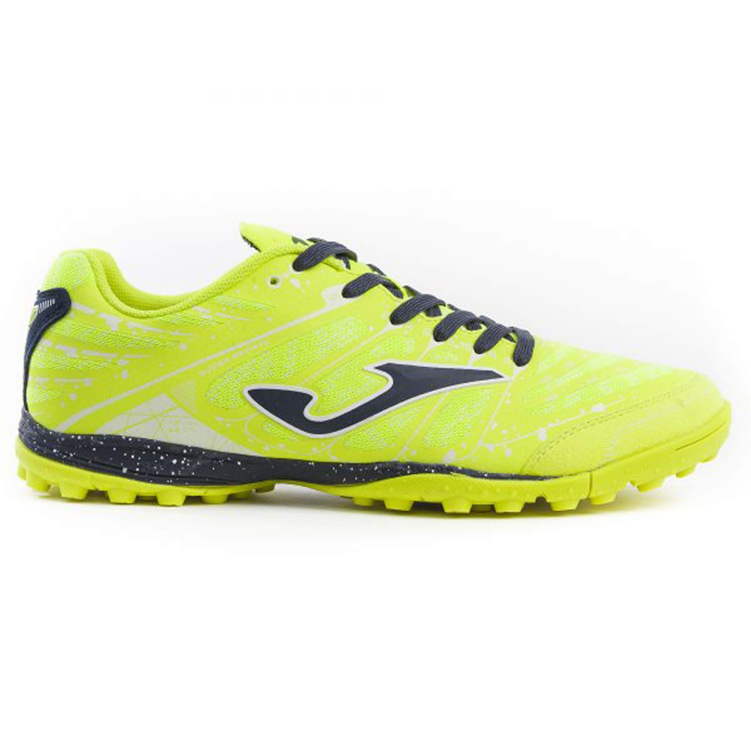 yellow FLUO Joma Soccer shoes Super REGATE Turf 906 Yellow Fluo Calcetto Scarpa
