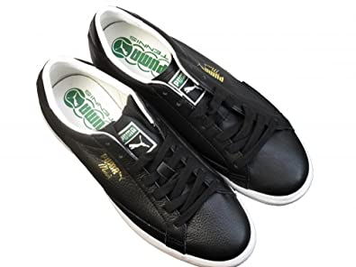 17b5d540b76a9a Image Unavailable. Image not available for. Colour  Puma Match Vulc Black  Leather Children s Tennis Sports Trainers Shoes