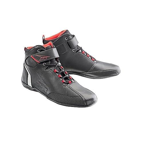 AXO Botines Asphalt Negro/Rojo EU 45 yM4XBIcd28