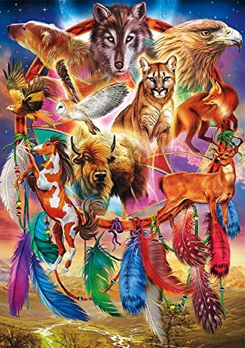 Buffalo Games - Amazing Nature Collection - Spirit Animals - 500 Piece Jigsaw Puzzle ()