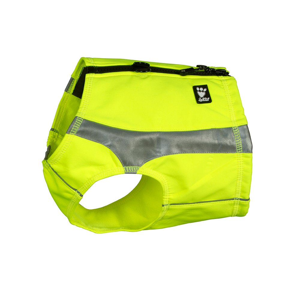 Hurtta Polar Visibility Dog Vest, Yellow, L