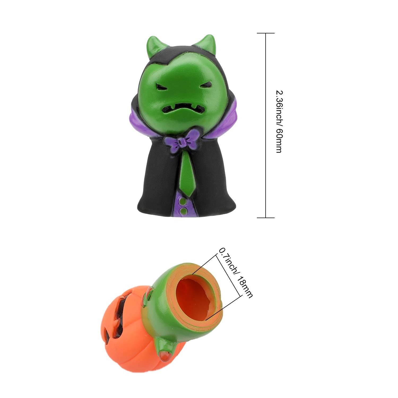 Halloween Marionnettes /à Doigts Finger Puppets Props F/ête Bonbonni/ères Citrouille fant/ôme sorci/ère Sinistre Reaper Fille poup/ée HOWAF 5pcs Dolls Props Jouets Halloween pour Enfants Adultes