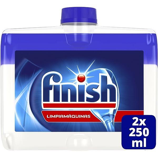 Finish Limpiamáquinas Líquido para lavavajillas fragancia limón ...