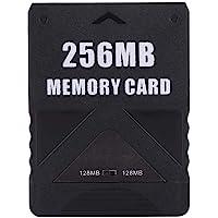 Lazmin Tarjeta de Memoria para Sony Playstation 2, Tarjeta de Memoria de Alta Velocidad para Sony PS2 con Almacenamiento…
