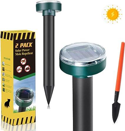 Michael Doss Solar Powered Mole Repellent