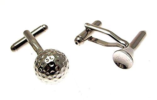 Mancuernas de la diversión Gentlemans - de bola de golf y tee ...