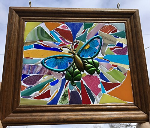 Butterfly Stained Glass Sun Catcher