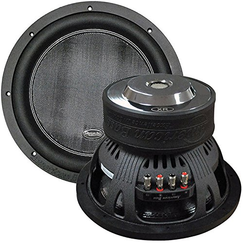 American Bass XR-12D2 12'' 2,400 Watts Max Power Dual 2 Ohm Car Subwoofer