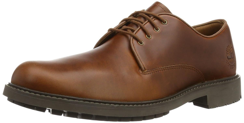 TALLA 44 EU. Timberland EKSTORMBK PTO Tan FG Medium Brown, Zapatos de Cordones Oxford para Hombre