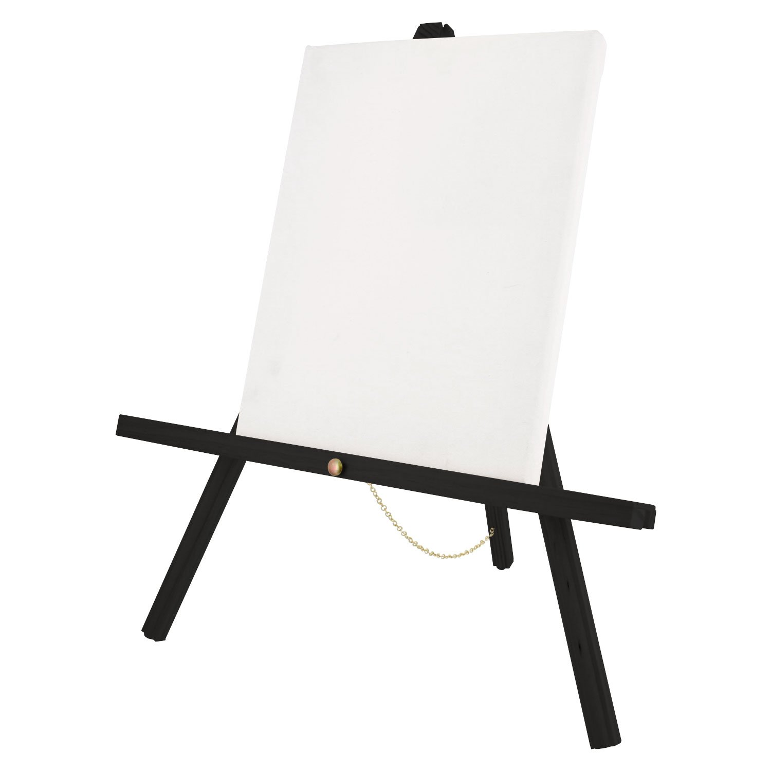 US Art Supply 16 inch Tall Tripod Easel Natural Pine Pack of 4 Easels