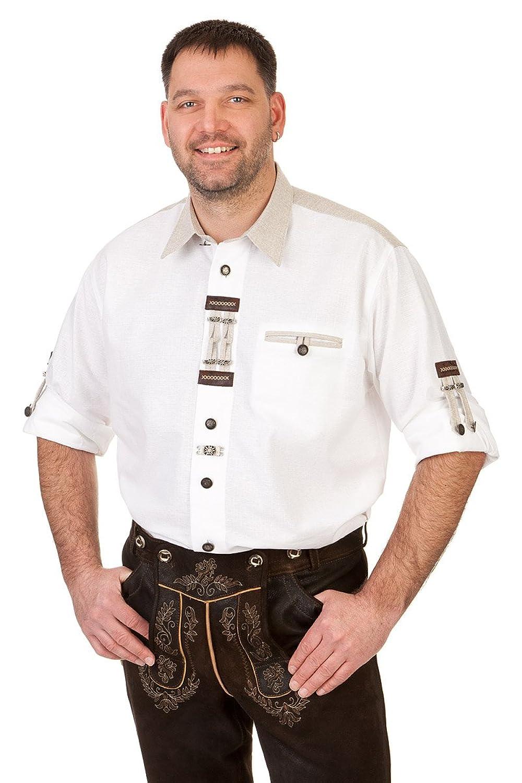 Orbis Textil H030 - Trachten Hemd mit Krempelarm
