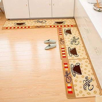 NBE Moqueta Felpudos Ventosa de succión Cocina Mats alfombras Antideslizantes Blended Mats Dormitorio colchones colchón Lavable
