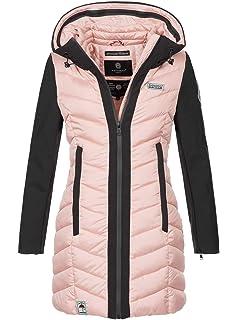fe2c1264436c37 Navahoo Damen Wintermantel Mantel Steppmantel warm Winter Jacke lang Stepp  B674