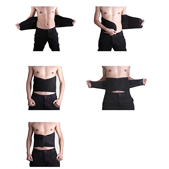 ed44e92fde High Waisted Velcro Clousure Fully Adjustable Tummy Belly Stomach  Compression Firm Control Waist Cincher Trimmer  Amazon.co.uk  Clothing