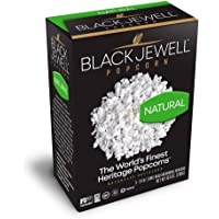 Black Jewell Natural Microwave Hulless Popcorn 10.5 Ounces (Pack of 1)