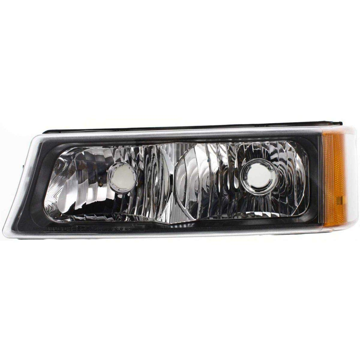 2003-2006 Chevrolet Silverado Lens And Housing GM2520185c 15199556 Capa New Left Driver Side Signal Lamp For 2003-2006 Chevrolet Avalanche