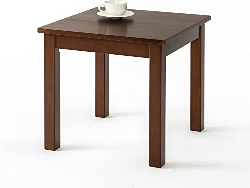 Zinus Damion Espresso Wood Side Table