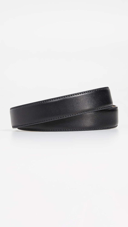 Ted Baker Mens Leather Keeper Plate Belt